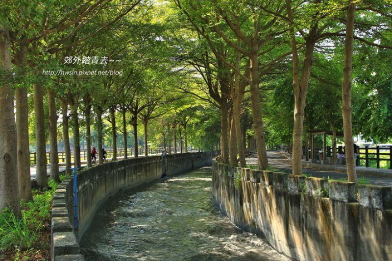 【彰化】田中林蔭小徑:八堡圳綠色廊道
