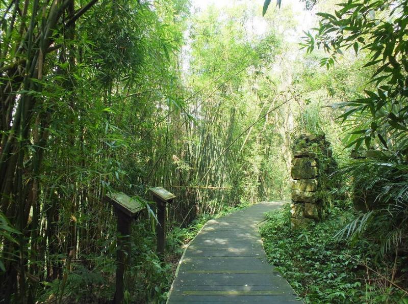 荖寮坑礦業生態園區步道