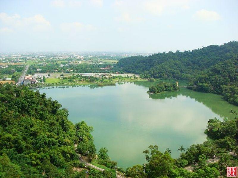 宜蘭梅花湖環湖步道
