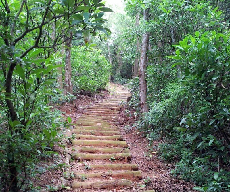 綠島阿眉山步道
