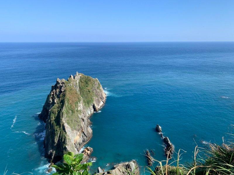 坐落在海上的美岩! 宜蘭「烏岩角」考驗 直達第一鋒頂端