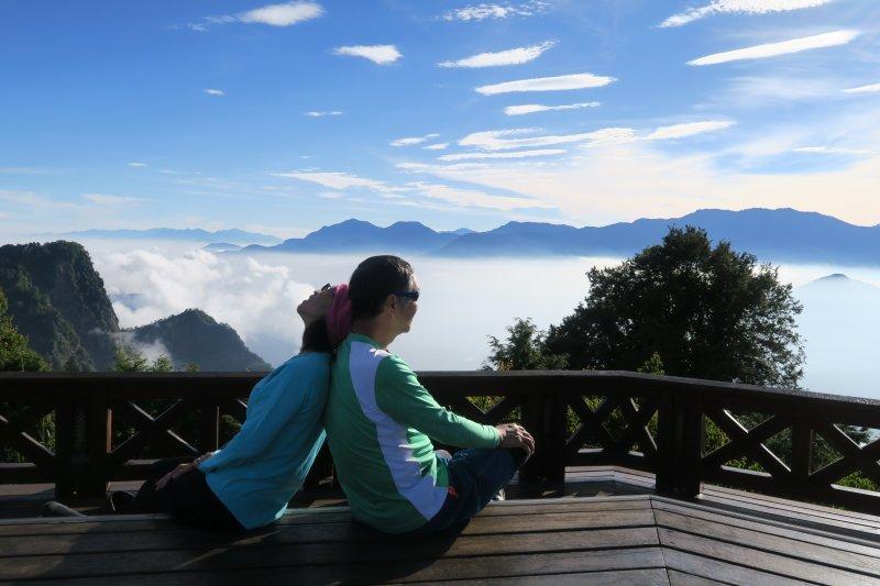 小笠原山、對高岳山、眠月線半程、阿里山園區O型走(第三天)