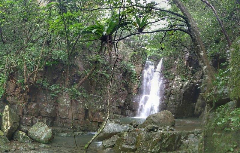 迴音谷瀑布-隱身在跑馬古道旁的祕境