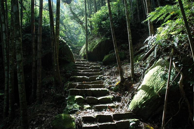 四大天王山步道