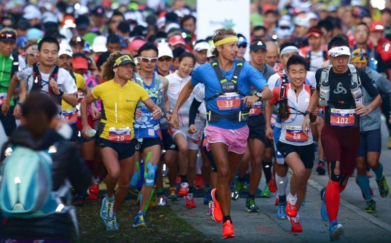 2019 Vibram 香港100迎接世界最佳越野跑者