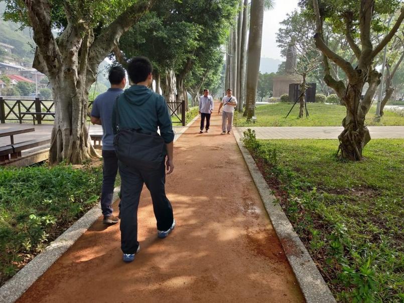 士林至善公園整修完成 五星級紅土跑道成亮點