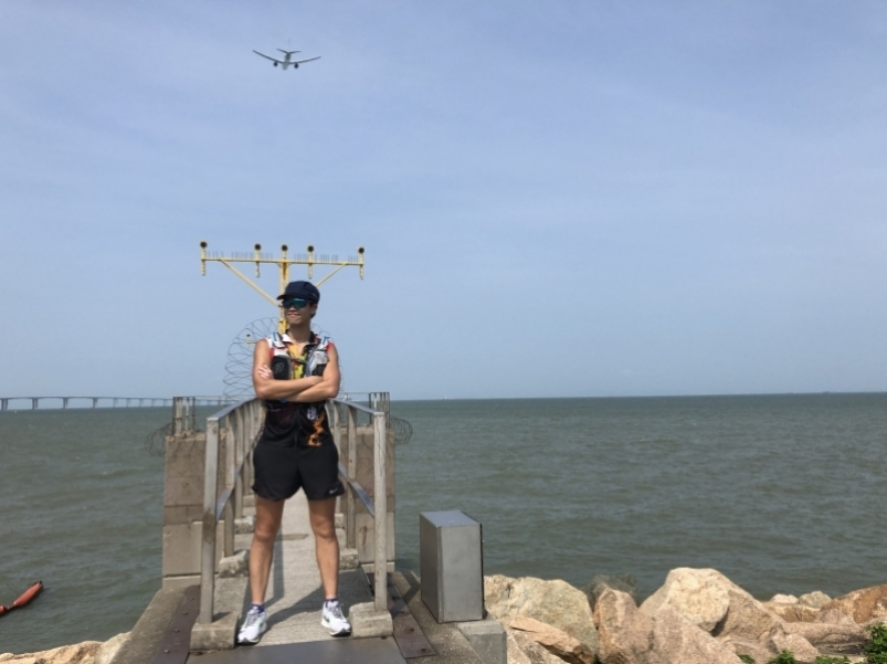 【Nikel Ying 跑跑步】跑步路線介紹 - 東澳古道x機場維修區