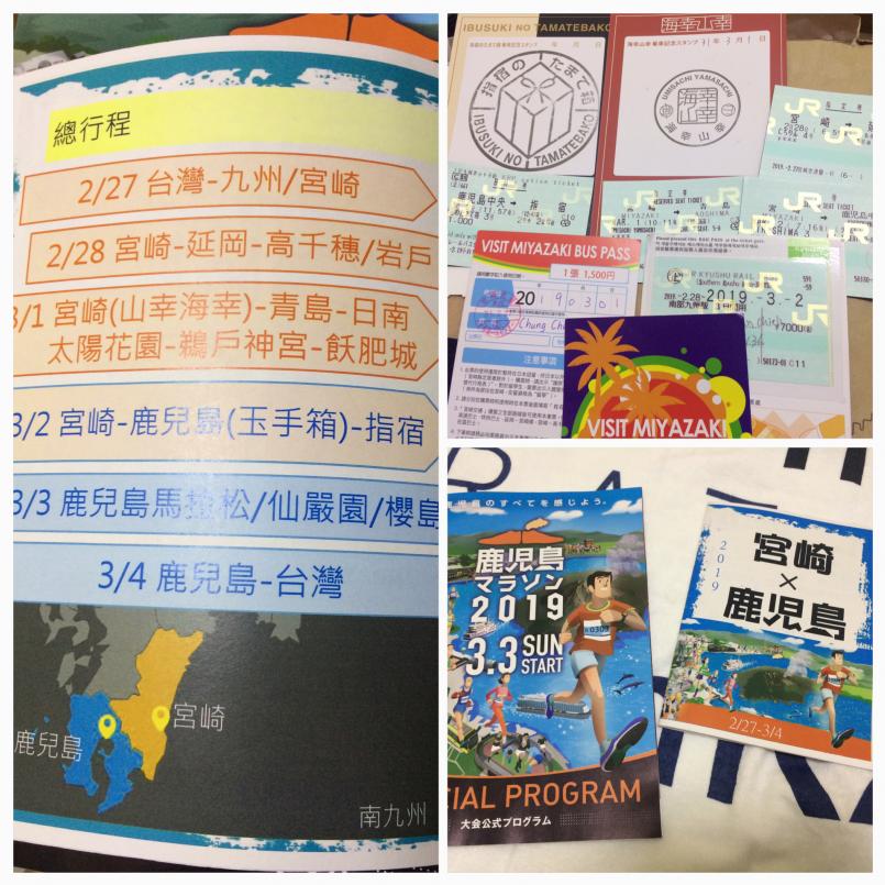 賽前特地用了大會網站上的圖片做成旅遊手冊,提醒自己不要忘記此行最重要的目的