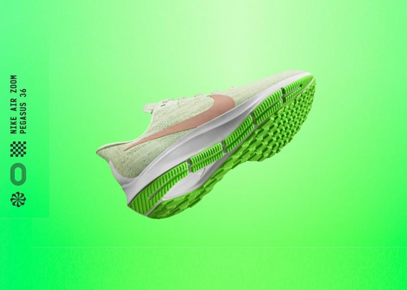 Nike Air Zoom Pegasus 36 跑鞋,做夢都想快