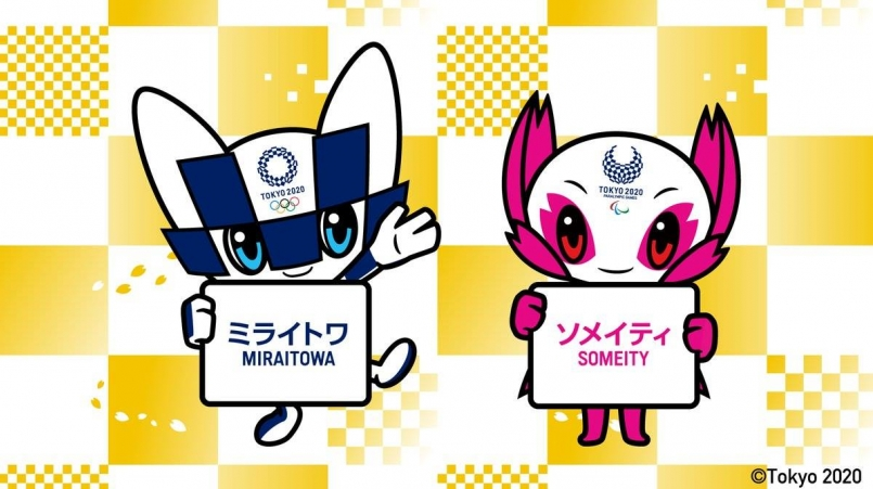 【東京奧運】吉祥物名字公佈