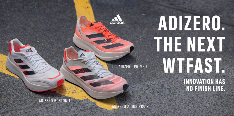 【裝備情報】adidas 推出全新革命性 ADIZERO 跑鞋系列