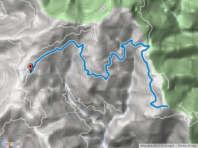 200林道登北三錐山