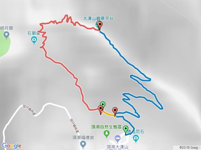 奮起湖大凍山.頂湖.20180324