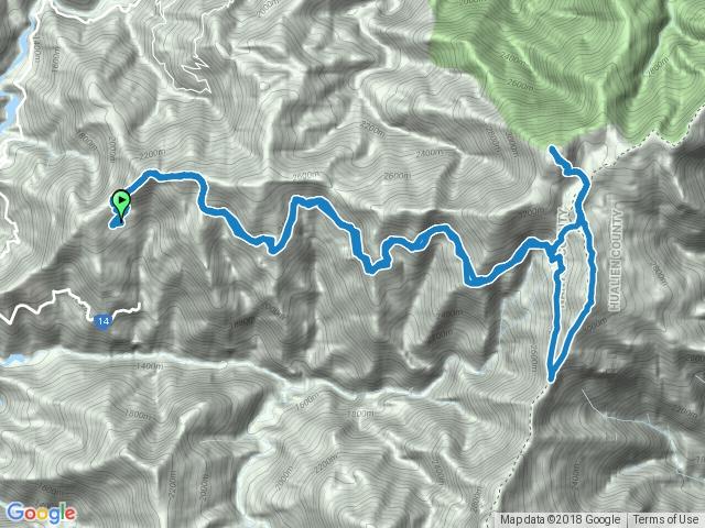奇萊南華山下光被八表走高遶路線