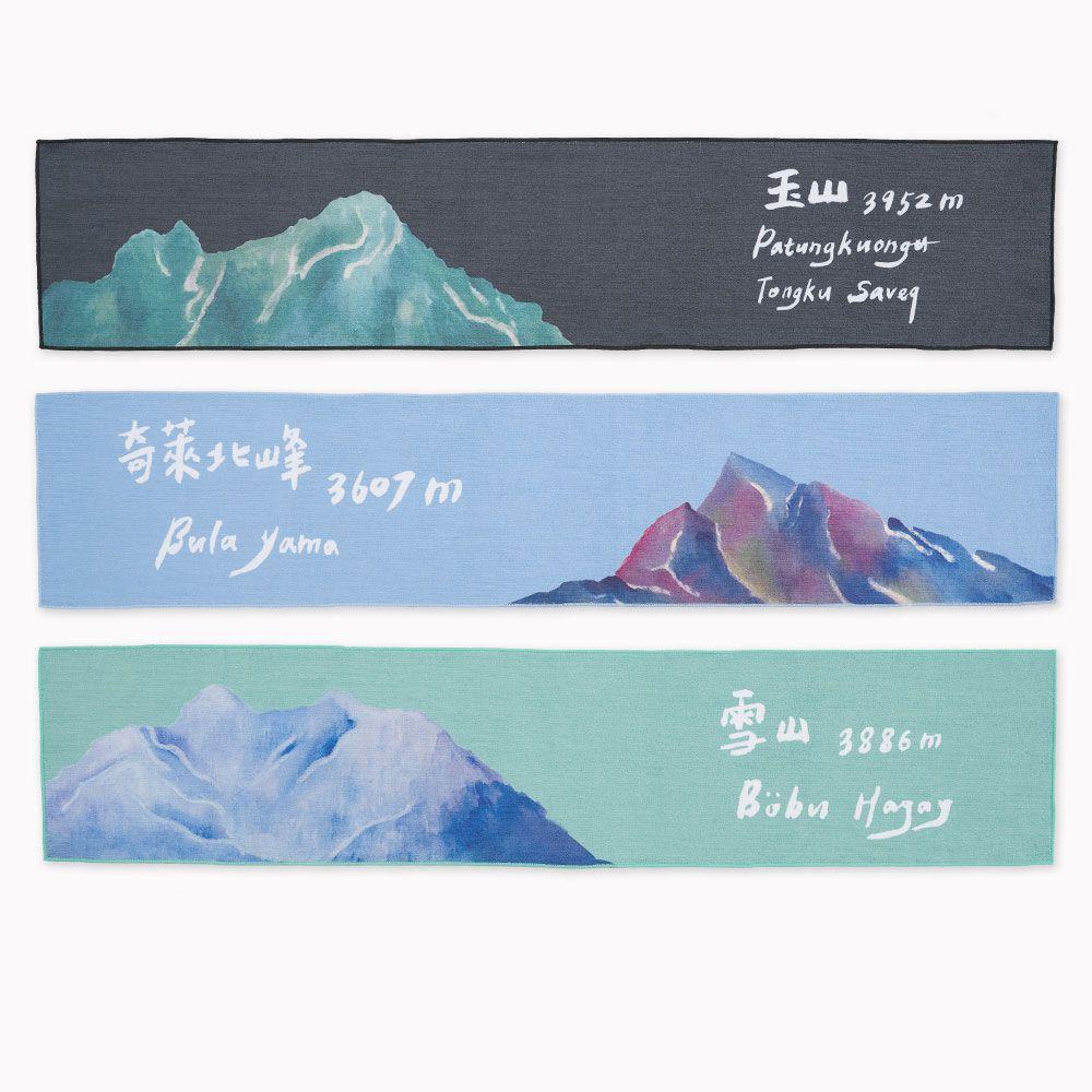 【BIJI】台灣山岳 運動毛巾 (共11款、台灣製)3