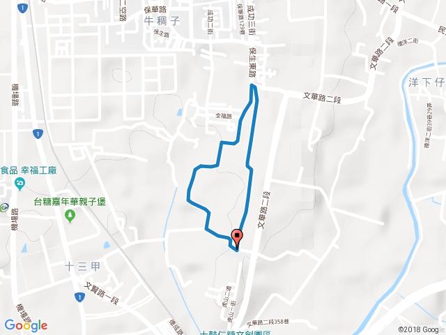 西瓜山森林步道(臺南虎山林場)