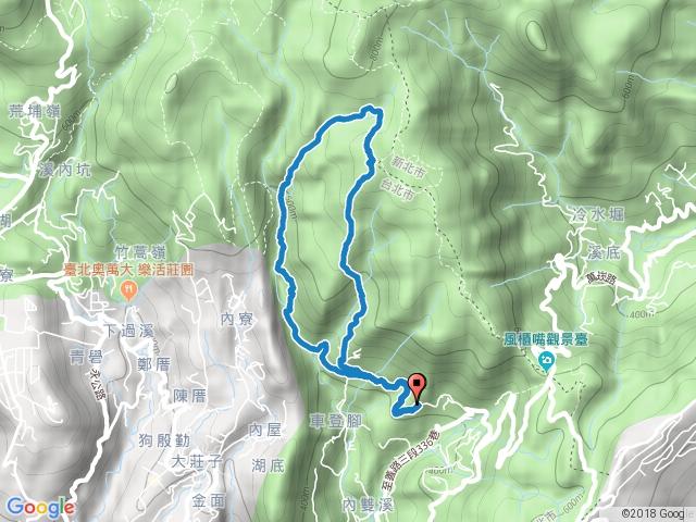 2016-03-06 士林 荷蘭古道-高頂山-北五指山-內雙溪古道.gpx