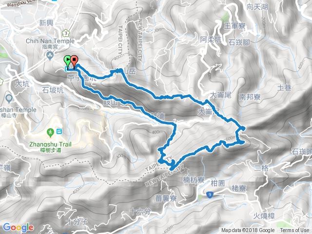 猴山岳~二格山O型環走(親子登山-5~15歲)