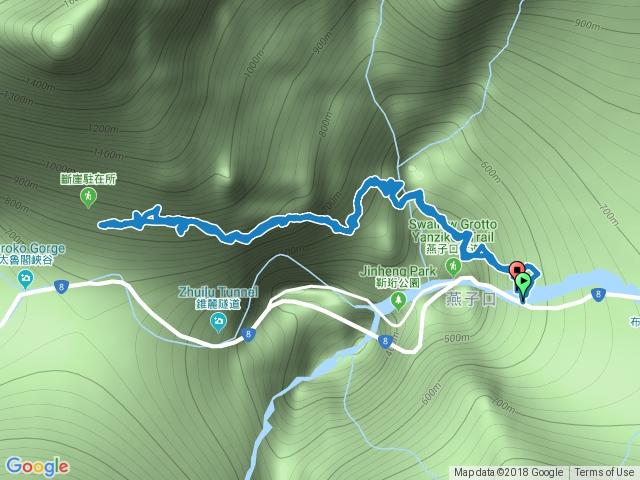 錐麓古道0 - 3.1 km原路來回