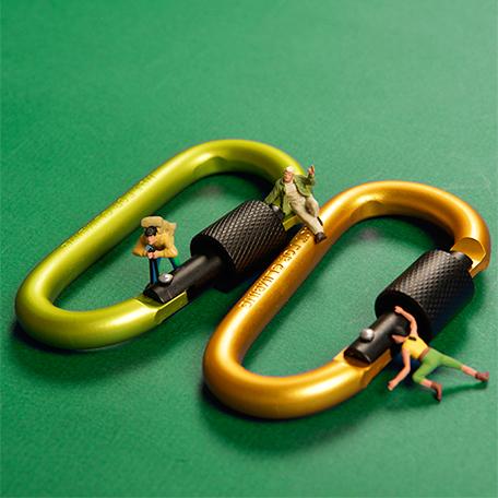 【BIJI】走出個性 多用途掛環 5件組(隨機出貨)4