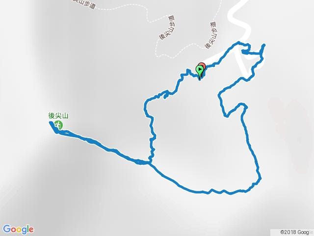 20160428南投頭社後尖山步道