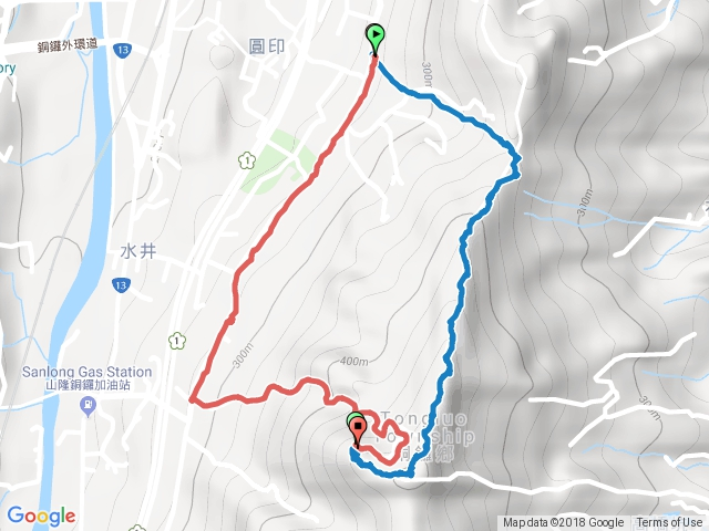 雙峰路-雙峰山-慈惠堂-O型路線