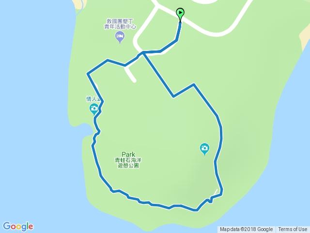青蛙石海洋遊憩公園濱海步道