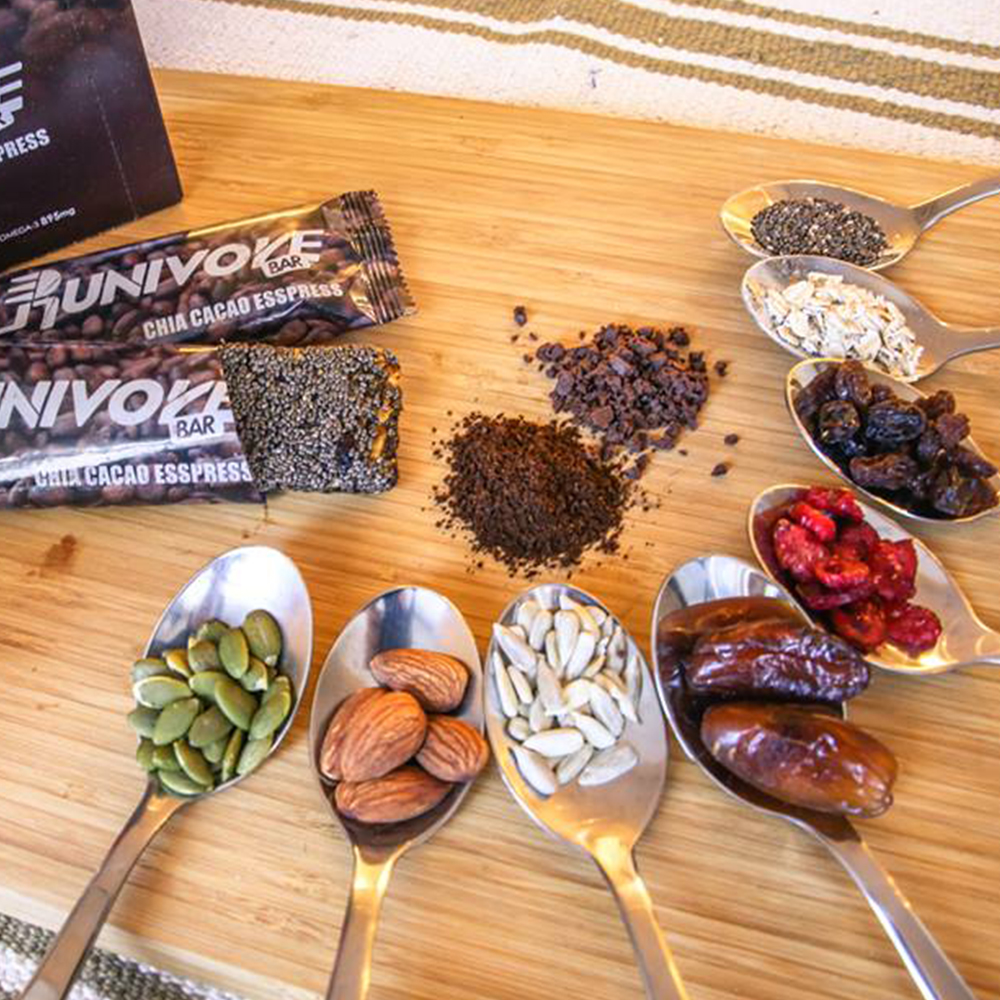 【Runivore】健康天然 超級食物能量棒(台灣製、無麩質、素食可、15個小口包)5