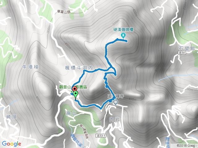 20170819-觀音山硬漢嶺步道