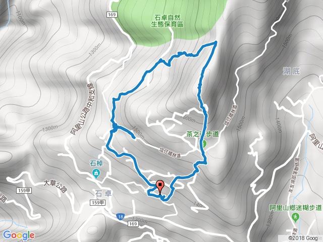 2016-1112 嘉義縣阿里山鄉 頂石棹步道群 (霧,茶,雲,霞,櫻)