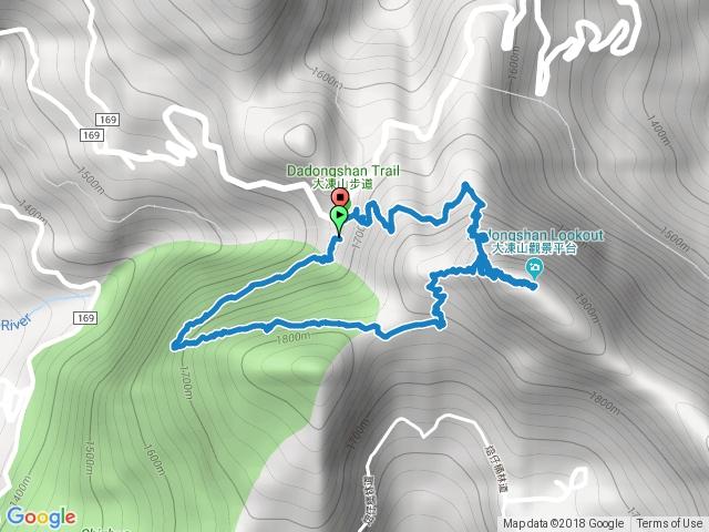 大凍山步道(多林停車場進出)
