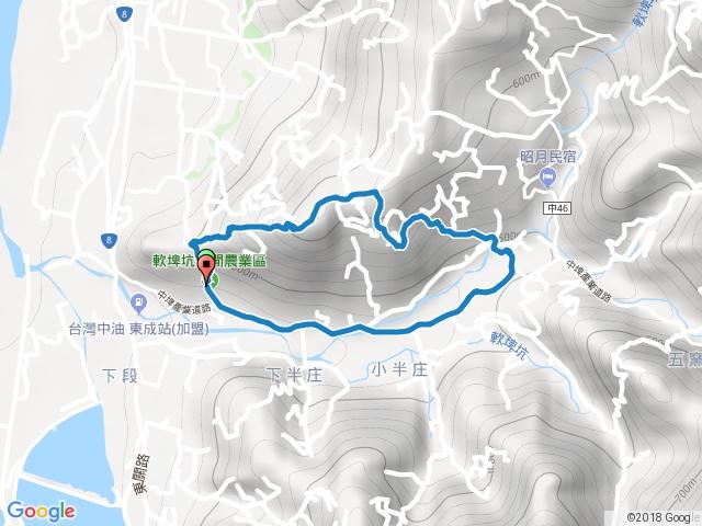 20180125-北茅埔山-O形