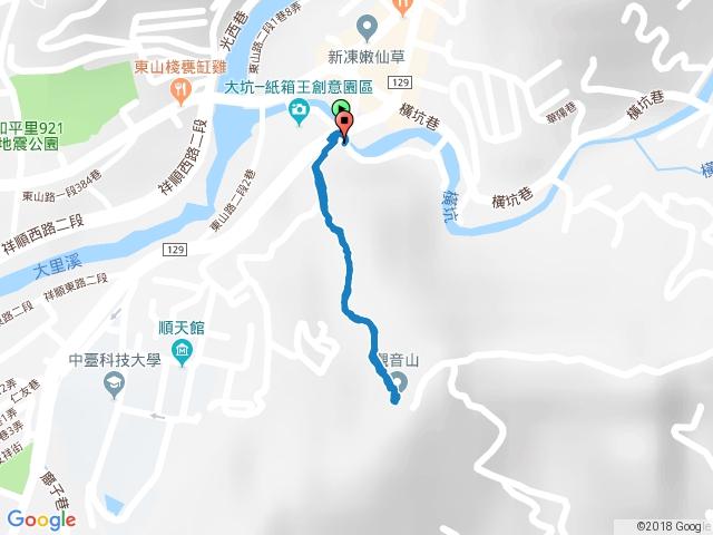 玉佛寺登山步道→南觀音山▲(20171001)