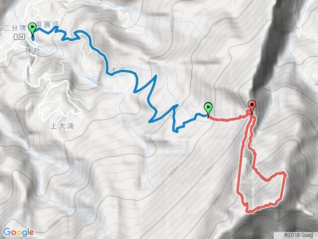 大坪上加里山環走杜鵑嶺