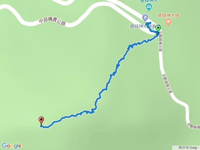 卡拉寶山去程