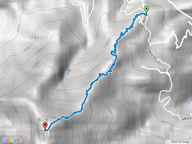 鵝公髻山.第一登山口.2016-12-11
