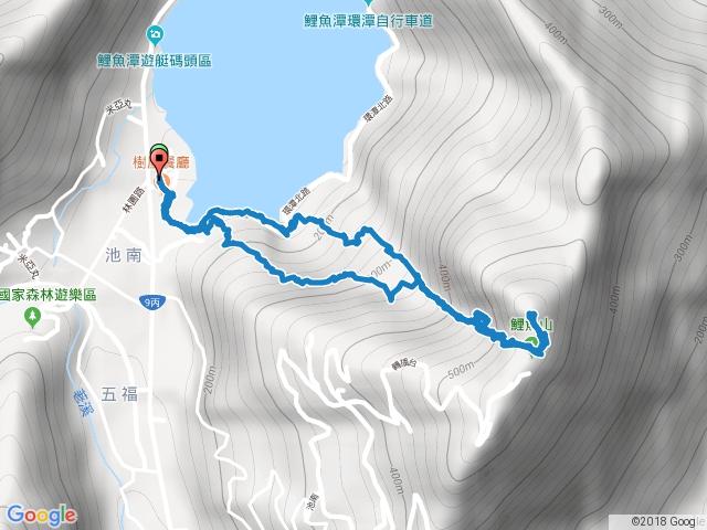 花蓮鯉魚山步道