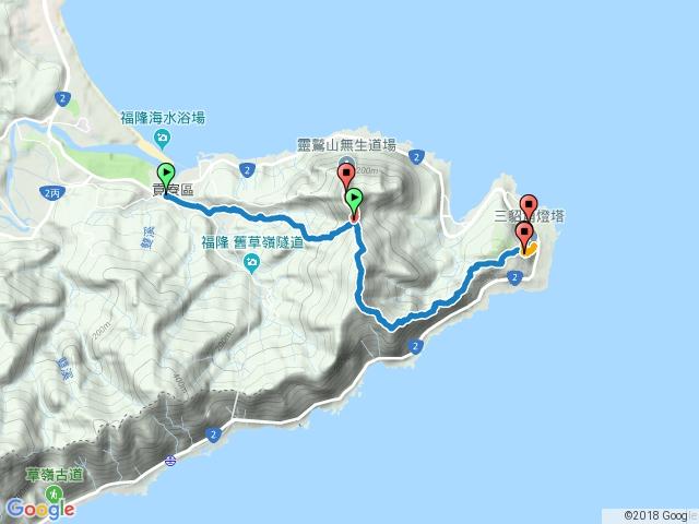 荖蘭山、隆隆山登山步道