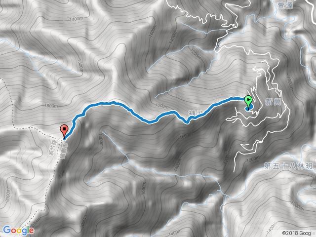 低陸山登山步道