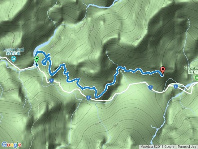 錐麓古道(9公里全程)