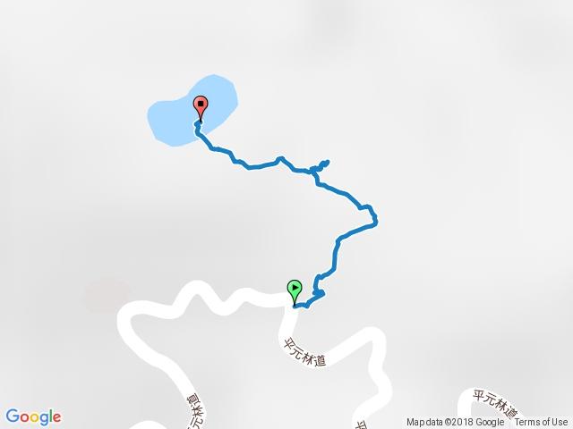 三星池登山步道