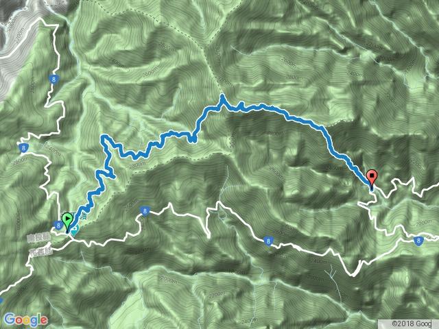 20170911_畢祿-鋸齒連峰-下羊頭登山口