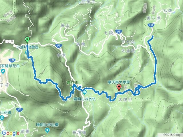 七星山-夢幻湖-魚路古道