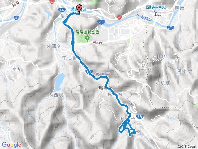 2017-03-22 暖東峽谷 (紅+黃+藍色路線)
