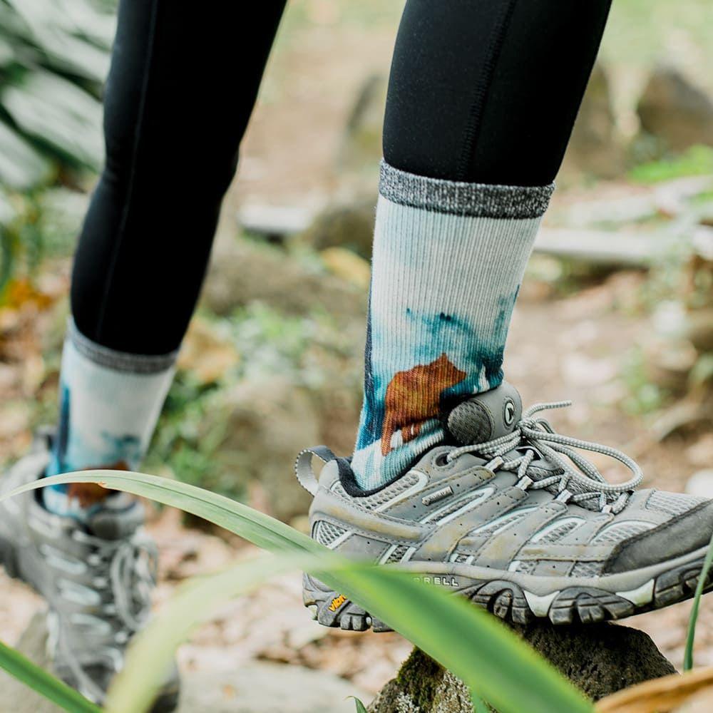 【小創襪】森林系 郊山健走襪 3雙組(台灣製、共7款)17