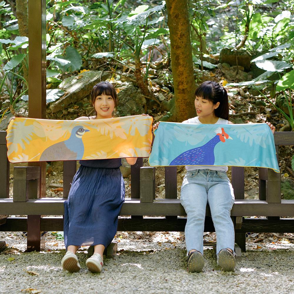 【BIJI】鎖住涼感 戶外運動巾 M款(台灣製、抗UV)3