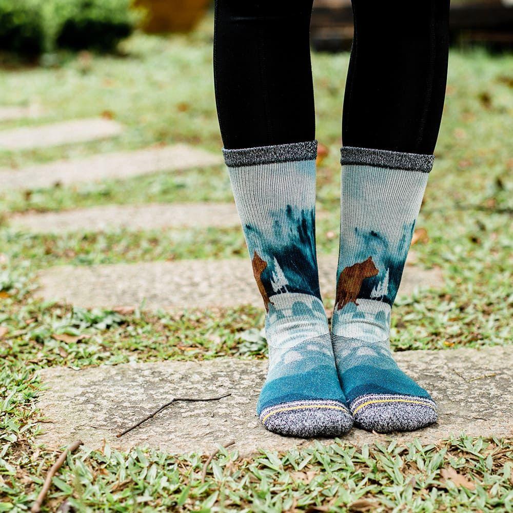 【小創襪】森林系 郊山健走襪 3雙組(台灣製、共7款)16