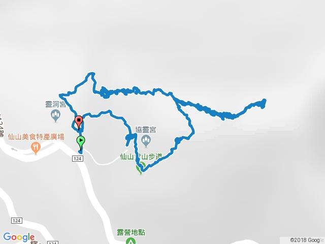 仙山登山步道O行縱走