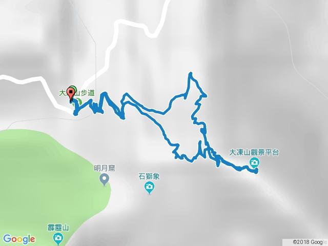 奮起湖大凍山步道