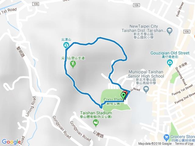 尖凍山登山步道
